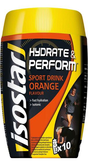 Isostar Hydrate & Perform 400g Orange czarny